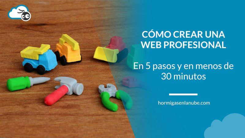 pasos para crear una web profesional en wordpress
