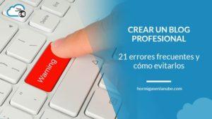 Crear un blog profesional