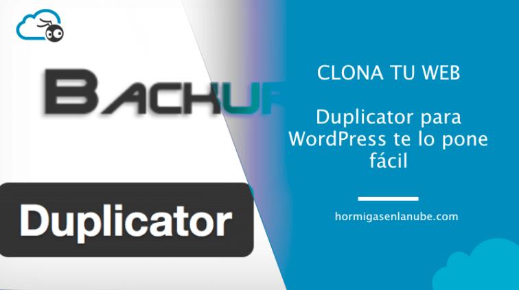 duplicator para wordpress