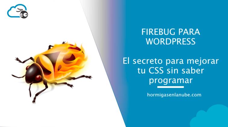 firebug para wordpress