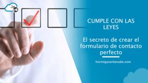 formulario de contacto perfecto