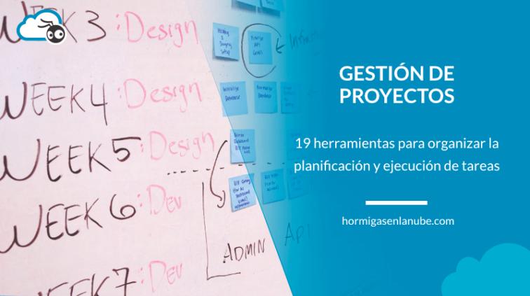 Herramientas de gestión de proyectos