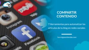 herramientas para automatizar publicaciones en redes sociales