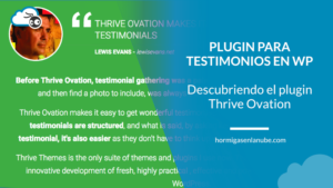 El plugin para testimonios en WordPress definitivo: Thrive Ovation