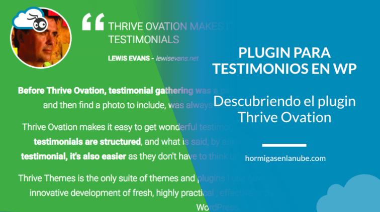 El plugin para testimonios en WordPress definitivo: Thrive Ovation