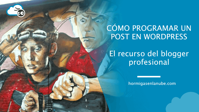 programar un post en wordpress
