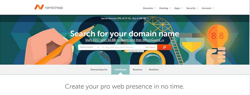 comprar dominio para crear web