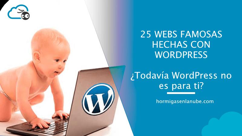 webs famosas hechas con wordpress